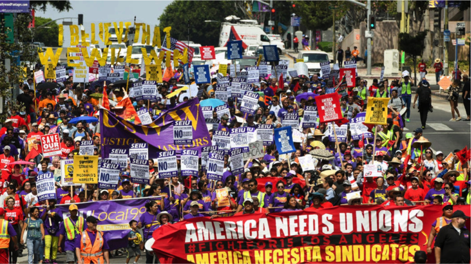 2017: A Year of Resisting and Rising - SEIU - Service
