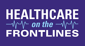 Healthcare  on the Front lines logo