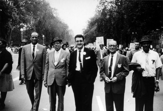 SEIU Local 54 Members and Officers, March on Washington, Washington DC 1963